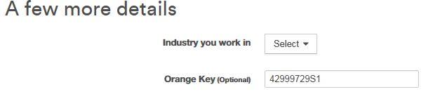 Orange Key Code 42999729S1