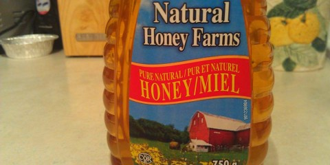 honey front labels
