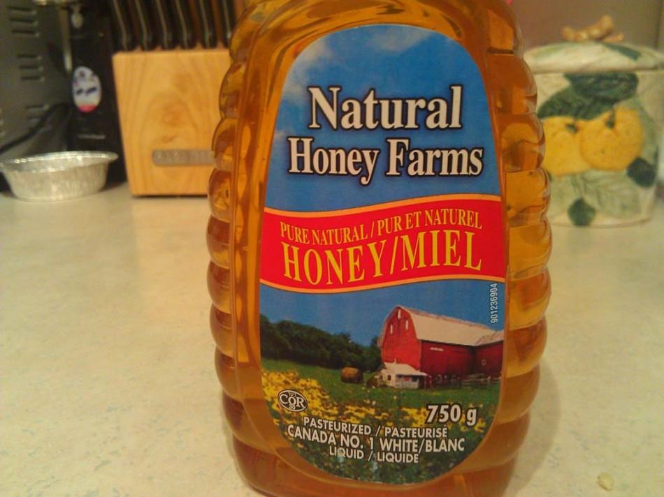 honey front labels