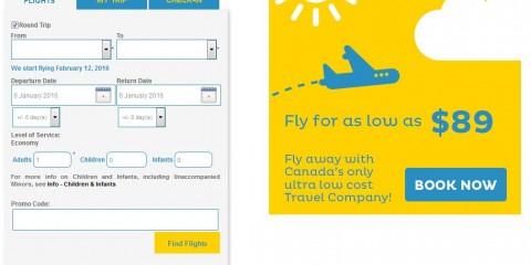 NewLeaf airline Canada ultra-low flight rates