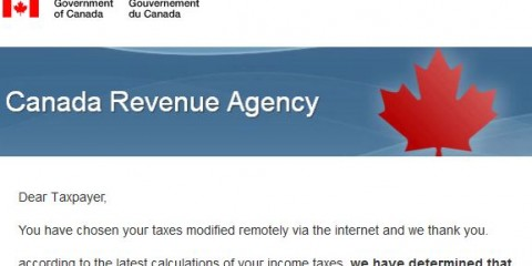 canada revenue agency refund tax scam 2016