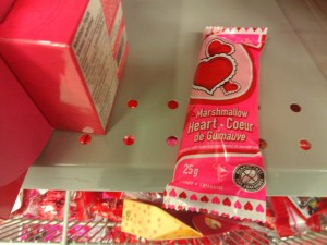 vanlentines day marshmallow heart