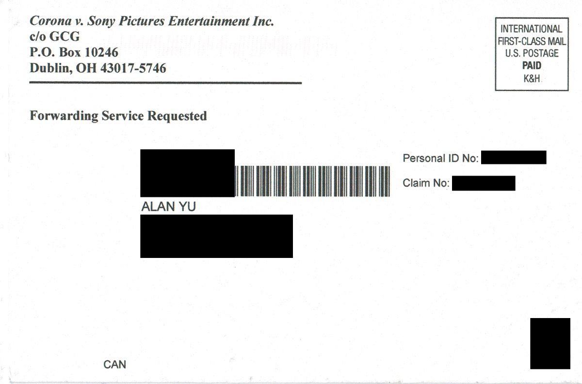 Sony Pictures Hack Class Settlement Cyberattacksettlement