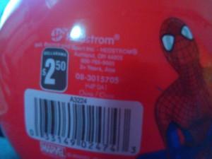 spiderman ball