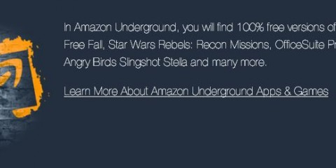 Amazon underground google android apps for free