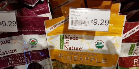 Dried pineapple price