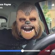 chewbacca lady laughing lady star wars candace payne
