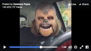 chewbacca lady laughing lady star wars candace payne