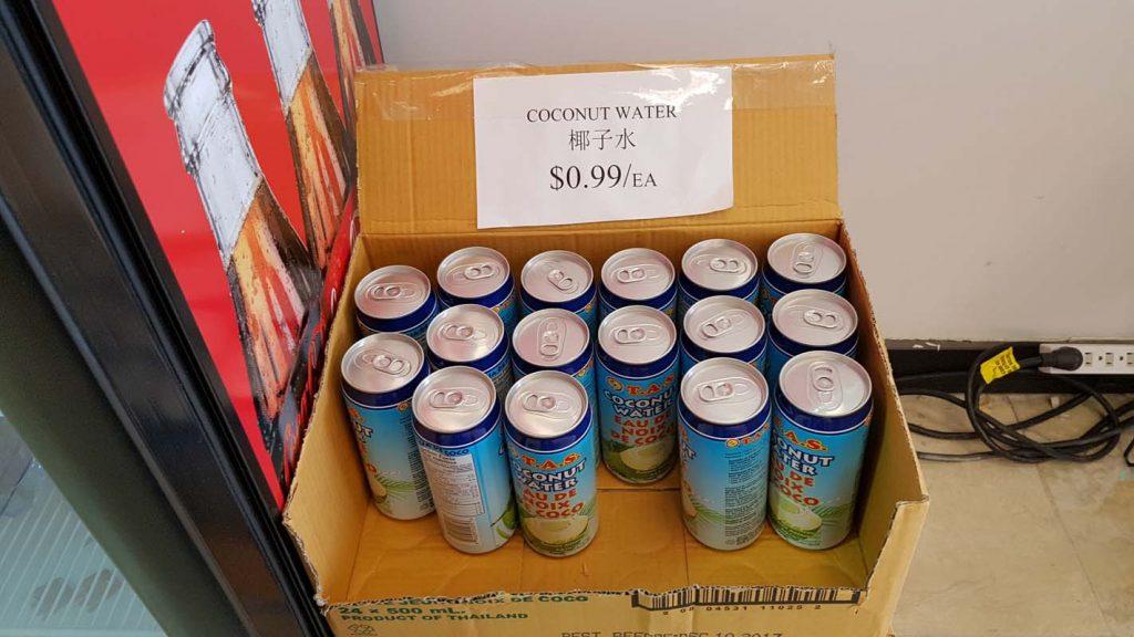 tas coconut water kings market