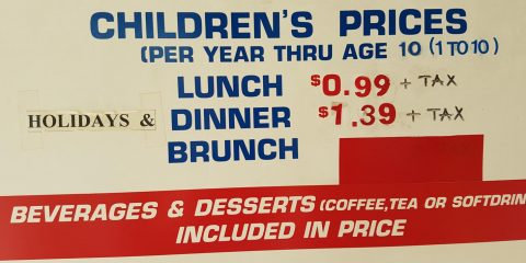 kids buffet uncle willy's price BC