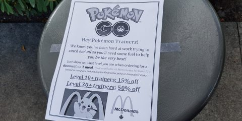 Pokemon go mcdonalds discount