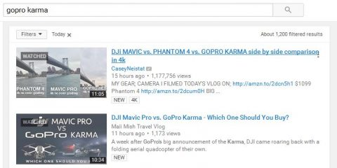gopro karma dji mavic search results