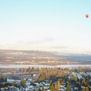 drone lake balloon