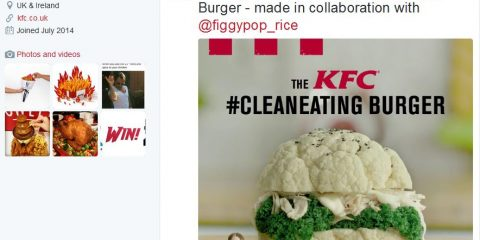 kfc cleaneating burger