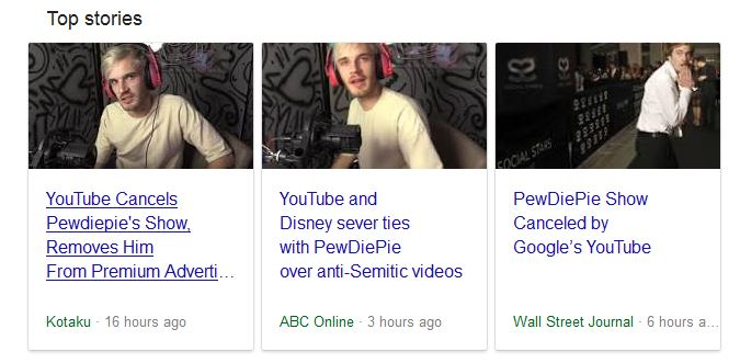 All That News About PewDiePie Losing His Partnerships
