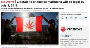 Marijuana legal in canada