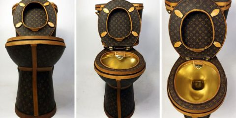 $100,000 Louis Vuitton Toilet