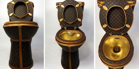 $100,000 Louis Vuitton Toilet