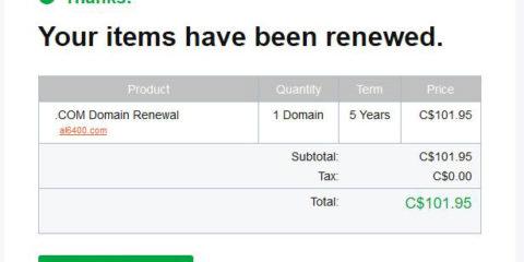 Godaddy renewal scam