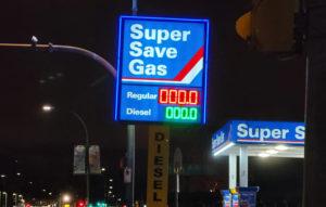 free gas black friday