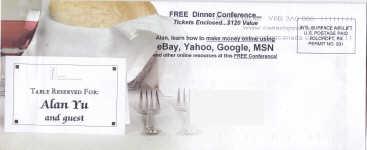 Internet Marketing Conference Envelope Front